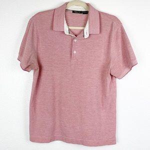 Claiborne Short Sleeve Slim Fit Polo Medium